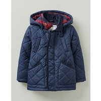 Crew Clothing Boys Quilted Jacket With Detachable Hood