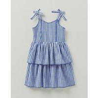 Crew Clothing Girls Gingham Strappy Dress