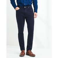 Spencer Slim Fit 5 Pocket Trouser In Navy