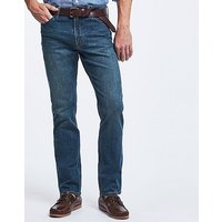 Parker Straight Leg Jean In Antique Blue