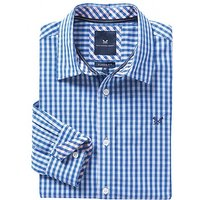 Crew Classic Fit Gingham Shirt In Blue