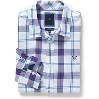 Bamburgh Classic Fit Check Shirt in Red Marl