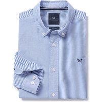 Felpham Slim Fit Multi Stripe Shirt In Sky Blue