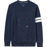 Sennen Crew Sweatshirt In Dark Navy