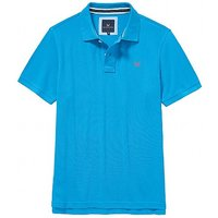 Classic Pique Polo Shirt In Salcombe Blue