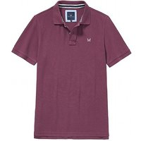 Classic Pique Polo Shirt in Washed Plum