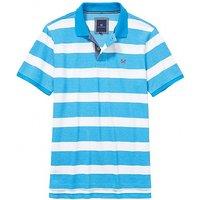 Oxford Pique Polo Shirt In Salcombe Blue