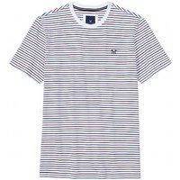 Brean Stripe T-Shirt In Optic White