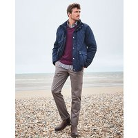 Harefield Quilted Jacket in Dark Navy