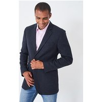 Ledbury Wool Blazer in Dark Navy