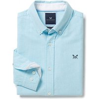 Crew Clothing Oxford Slim Fit Shirt in Topaz Blue