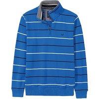 Classic Half Zip Sweatshirt in Lapis Blue