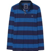 Long Sleeve Polo Shirt in Heritage Navy