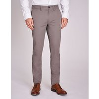 Slim Fit Chino in Soft Grey