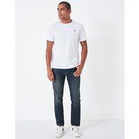 Parker Straight Leg Jean in Dark Vintage Blue