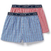 2 Pack Woven Boxers.