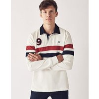 Crew Clothing Twin Stripe Rugby Shirt