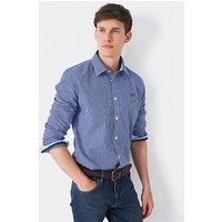 Crew Clothing Crew Slim Fit Micro Gingham Shirt