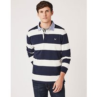 Crew Clothing Crew Long Sleeve Chambray Collar Rugby Shirt