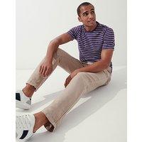 Crew Clothing Cotton Linen Trousers