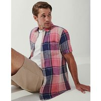 Crew Clothing Short Sleeve Classic Fit Gingham Shirt