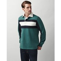 Crew Clothing Chest Panel Rugby Shirt