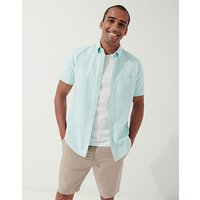 Crew Clothing Short Sleeve Oxford Shirt