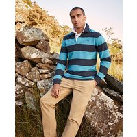 Crew Clothing Heritage Stripe Rugby Shirt