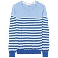 Colour Block Breton Stripe Knit