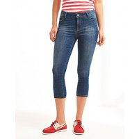Cropped Skinny Jeans.