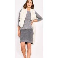 Beaford Knitted Wool Blend Dress