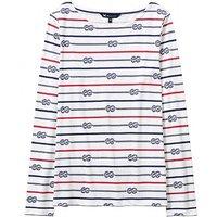 Essential Rope Breton T-Shirt In White