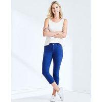 Cropped Skinny Jean In Ultramarine Blue