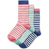 3 Pack Stripe Bamboo Socks