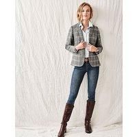 Grasmere Wool Blazer in Grey