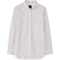 Austell Shirt in Khaki Stripe