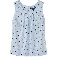 Crew Clothing Orla Print Vest Top in Pale Blue