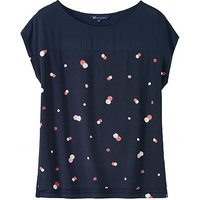 Crew Clothing Maria Top in Navy