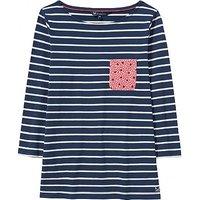 Pocket Breton T-Shirt in Navy