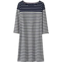 Breton Dress in Grey