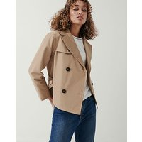 Crew Clothing Double Breasted Trench Jacket