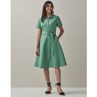 Crew Clothing Coombe Linen Tea Dress