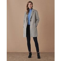 Crew Clothing Double Faced Coat