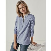 Crew Clothing Beach Haven Rugby Top