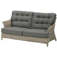 Linden Rattan 2 Seater Garden Sofa