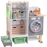 Product photograph showing Kidkraft 2 In 1 Kitchen And Laundry Play Kitchen