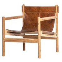 Chill Armchair by BePureHome - Brown
