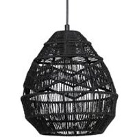 Product photograph showing Woood Adelaide Large Pendant Light - Natural