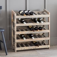 Product photograph showing Garden Trading Aldsworth Wooden Wine Rack