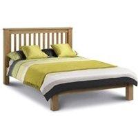 Julian Bowen Amsterdam Bed Frame in Oak - Double